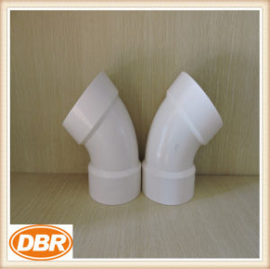 6 Inch Size 1/8 Bend Type PVC Fitting pictures & photos