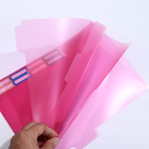 Wholesale Customized Printed PVC Book Cover Plastic Book folder in Guangzhou pictures & photos