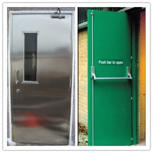 Superior Quality Steel Fire Rated Door with Bm Trada and UL Certified pictures & photos