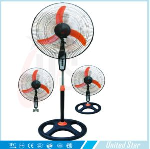 18′′3 in 1 Cooling Exhaust Electric Stand Fan (USSF-883) pictures & photos