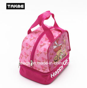 Cartoon Transparent PVC Printing Cooler Bag Lunch Bag for Children pictures & photos