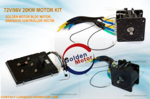 72V/96V 20kw BLDC /Brushless DC Motor for Electric Car, Electric Boat, Yacht. pictures & photos