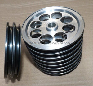 High Hardness Aluminum Pulley with Ceramic Coating/Wire Guide Pulley-7for Cable Industries pictures & photos