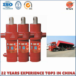 Side-Dumping Telescopic Hydraulic Cylinder for Sale pictures & photos