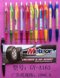 Plastic Custom Roll Pen for Promotion Gifts