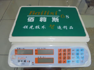 LCD Display Electronic Price Digital Scale 3-40kg (ACS-810) pictures & photos