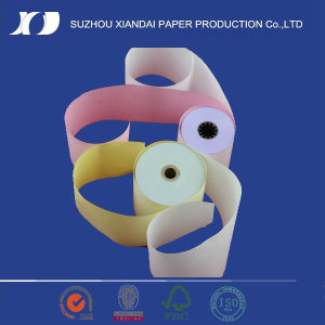 2017 Hotest 2-Ply 7550 Carbonless Paper Roll Factory pictures & photos