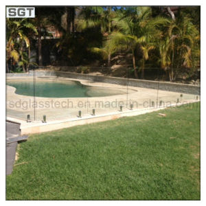 Ultra Clear/Low Iron Tempered Glass for Swimming Pool Fencing pictures & photos