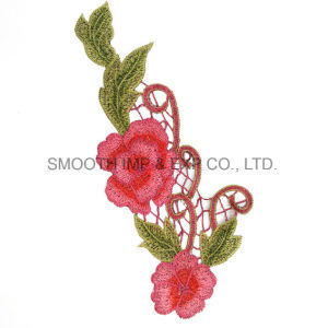 Fashion Promotion Flower Applique Clothes Decorated Sewing Accessories Embroidery Patches pictures & photos