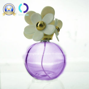 Round Elegant Glass Bottle for Perfume (B-2157)