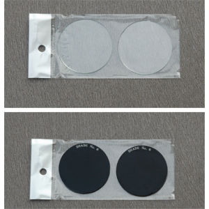 50mm Round Black Welding Glass with CE pictures & photos
