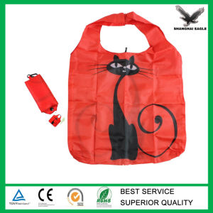 Custom Promotional Folded Polyester Bag pictures & photos