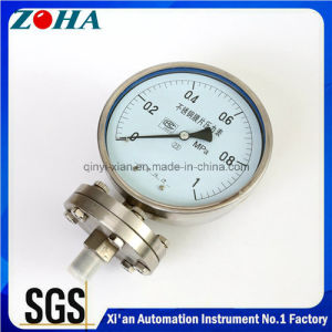 All Ss Diaphragm-Seal Homogenizer Pressure Gauges pictures & photos