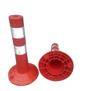 China Manufacturer Plastic Road Barrier Flexible Post pictures & photos