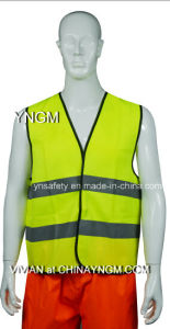 High Visibility Safety Vest with High Luster Reflective Tc Fabrics pictures & photos