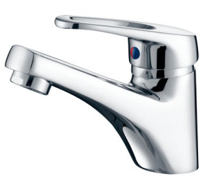 35mm Single Lever Basin Mixer Faucet (F-222) pictures & photos