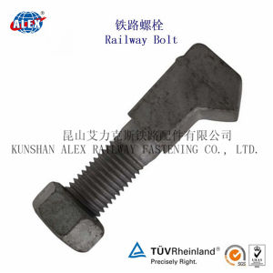 High Tensile Special Fastener J Bolt with Yellow Zinc Plated pictures & photos