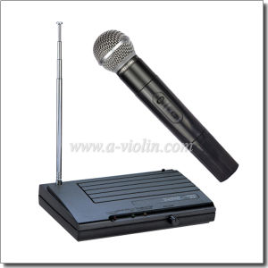 High Quality VHF Wireless Microphone (AL-SE33) pictures & photos