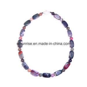Semi Precious Stone Crystal Bead Fashion Charming Necklace pictures & photos