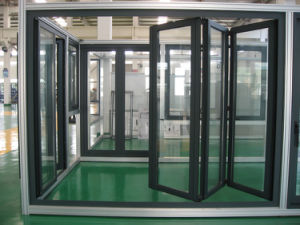 High Quality Thermal Break Aluminum Folding Door K07001 pictures & photos