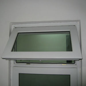 White Colour UPVC Profile Awning Window K02007 pictures & photos