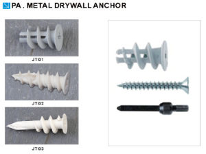Good Quality Low Price Metal Drywall Anchor pictures & photos