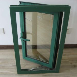 White Colour Powder Coated Aluminium Profile Casement Window K03012 pictures & photos