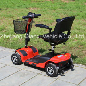 Four Wheel Electric Scooter with Good Climbing Capacity pictures & photos