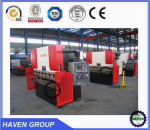 WE67K-300X3200 CNC Hydraulic Press Brake, Steel Plate Bending Machine pictures & photos