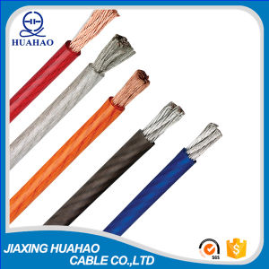 High Quality Transparent Car Power Cable with Plastic Reel Packing pictures & photos