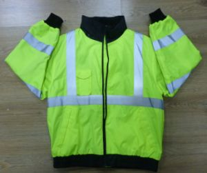 Traffic Safety Parka Jacket with En/ANSI pictures & photos