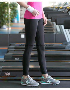 Fashion Women Quickly Dry Yoga Pants Gym Shorts Athletic Wear pictures & photos