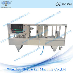 Automatic Linear Type Sugarcane Juice Plastic Cup Sealing Packing Machine pictures & photos