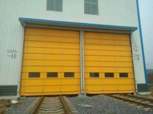 China Supplier High Speed Stack Door pictures & photos