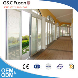 Aluminium Iron Main Entrance Doors Grill Design Soundproof Folding Doors Manufacturer pictures & photos