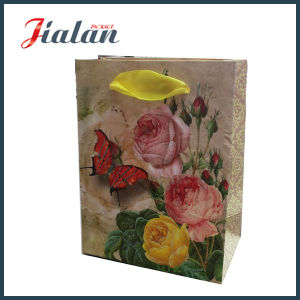 3D Thick Customize Logo Printed Good Quality Wedding Paper Bag pictures & photos