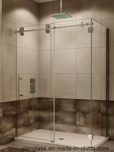 Tempered Extral White Glass for Shower Enclourse pictures & photos