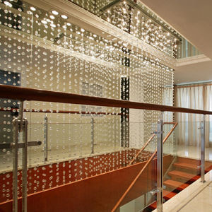 Modern Stair Decoration Crystal Stars Curtain pictures & photos