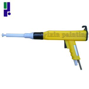Kci Yellow Electrostatic Powder Coating Spray Gun pictures & photos