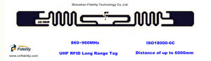 Alien-9640 UHF RFID Long Range Vehicle Label Tag