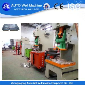 High Speed Aluminum Foil Container Machine with Auto Feeder pictures & photos
