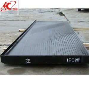 High Quality Riffles Heavy Mining Concentration Shaking Table pictures & photos