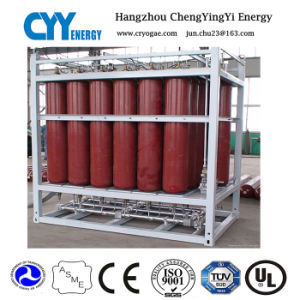 High Pressure Oxygen Nitrogen Gas Cylinder Dnv Rack pictures & photos