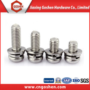Ss304 316 Button Head Pan Head Flat Head Machine Screw pictures & photos