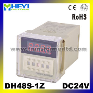 Dh48s Digital Time Relay 24VDC pictures & photos