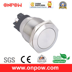 Onpow 22mm Metal Push Button Switch (GQ22L-11/S, CE, CCC, RoHS) pictures & photos