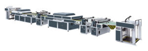 Automatic Full Large Thin Paper UV Roller Coating Machine pictures & photos