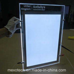 Carving Logo LED Acrylic Adverting Light Boxes pictures & photos