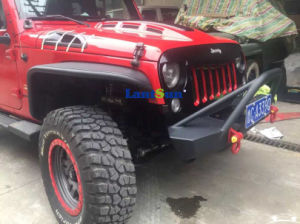 Steel Poison Spider Fender Flares Front +Rear for Jeep pictures & photos