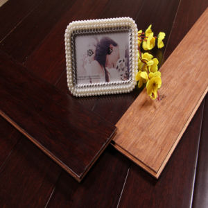 Cherry Strand Woven Bamboo Flooring pictures & photos